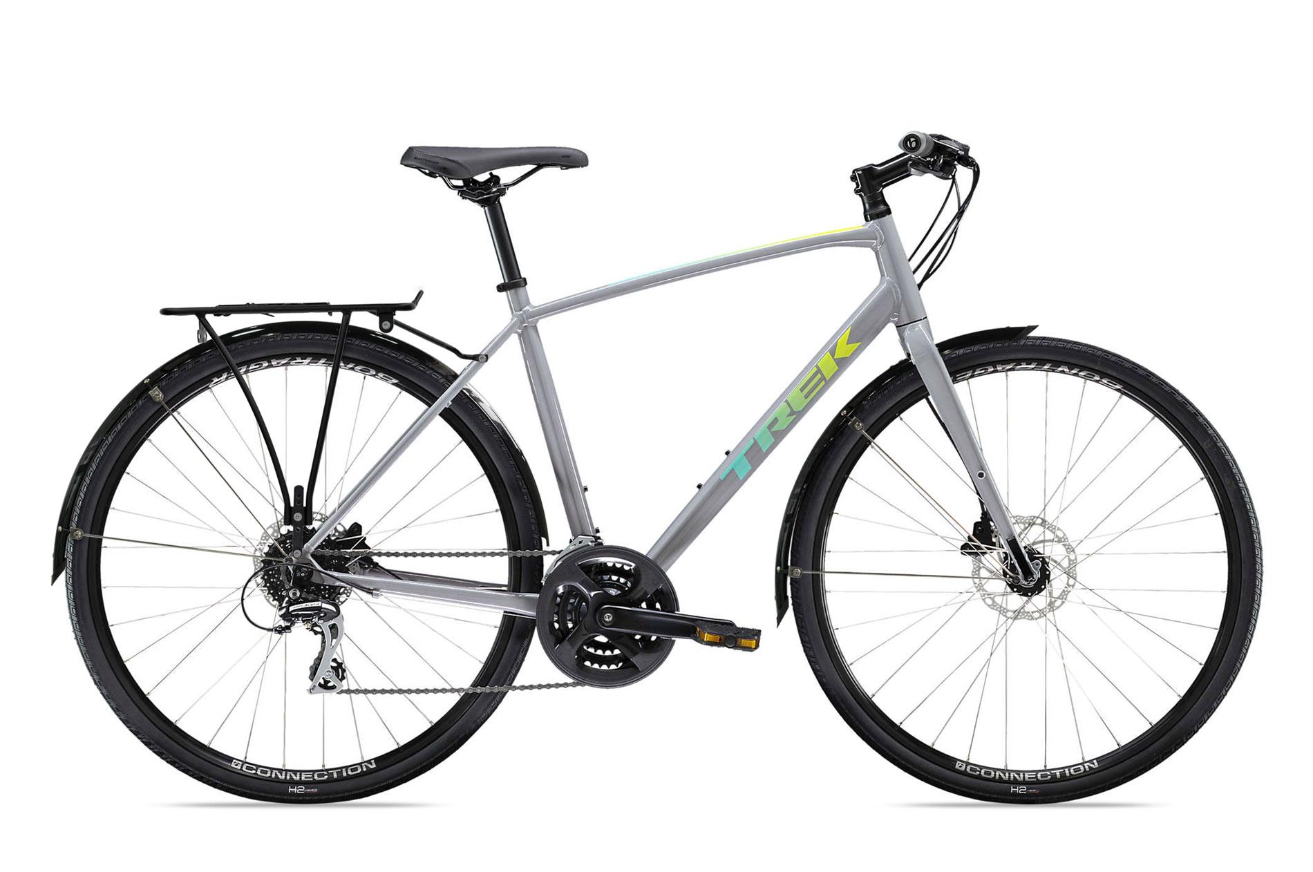 xe đạp thể thao thành phố Trek FX 2 Disc fitness bike