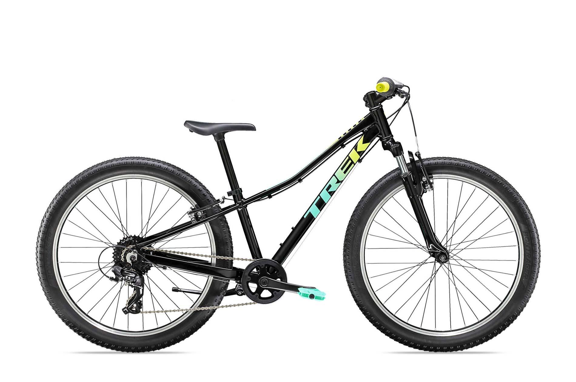 """Xe đạp trẻ em Trek Precaliber kid bikes 24"""" 8 tốc độ - Đen"""
