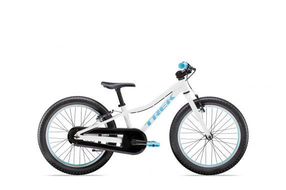 """Xe đạp trẻ em cho bé 6-10 tuổi Trek Precaliber 20"""" SS - Trắng Xanh"""