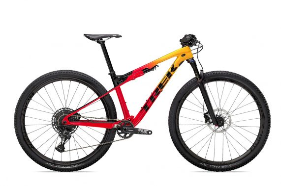 Trek Supercaliber 9.7 MY21 Red/Yel