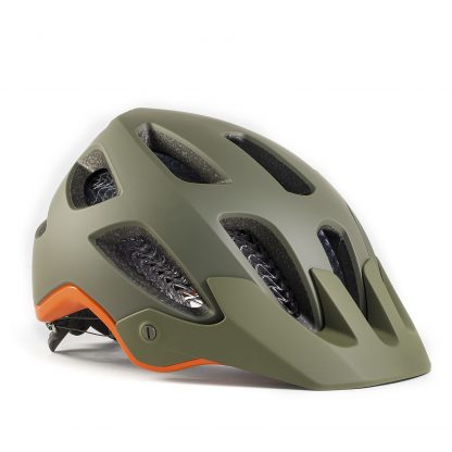Bontrager Rally WaveCel Mountain Bike Helmet Olive Grey