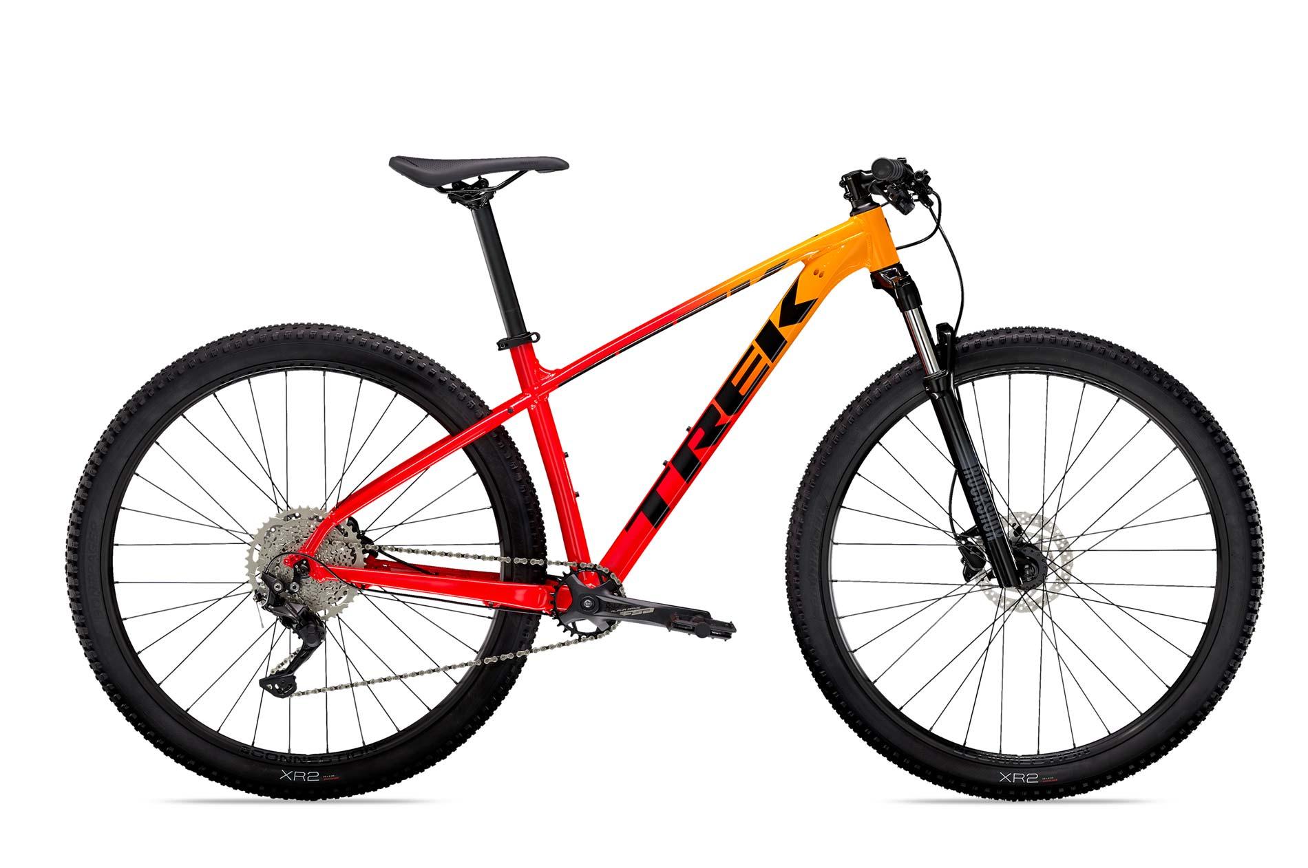 Trek Marlin 7 Mountain Bike 2021 Red Yellow