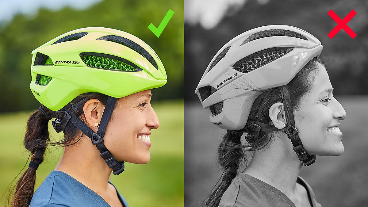 Cách đội nón bảo hiểm xe đạp - How to fit your bike helmet