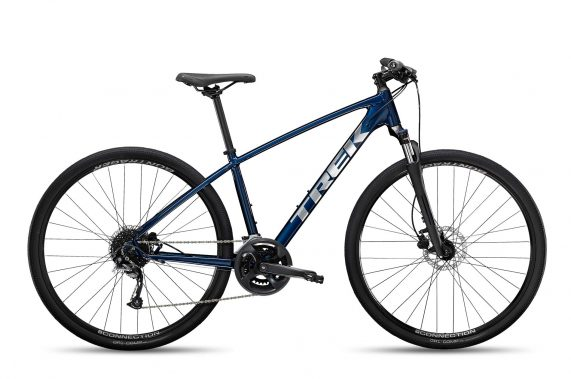 Xe đạp thể thao thành phố Trek Dual Sport 2022 hybrid bike - Blue